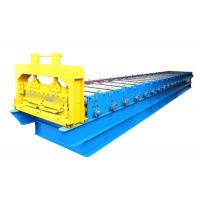 Quality Steel PPGI Roofing Sheet Roll Forming Machine , Strong Frame Standing Seam Roll Former for sale