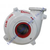 Quality ELM-100D high chrome alloy lined mining slurry pumps design for building material for sale