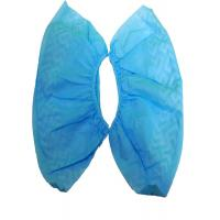 Quality Blue Disposable Shoe Covers , Breathable Polypropylene Non Woven Shoe Cover for sale