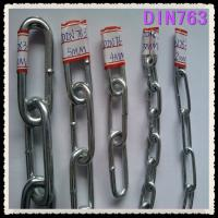 China DIN763 LONG LINK CHAIN on sale
