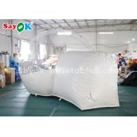 Quality 3m PVC Outdoor Inflatable Bubble Tent For Family Camping Backyard CE SGS ROHS for sale