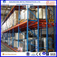 New Style Ebilmetal Metallic Push Back Pallet Rack for Warehouse Storage