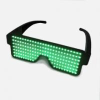 Quality Battery Powered Custom Light Up Glasses With 8 Flashing Patterns for sale