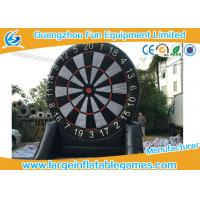 Buy Single Side Commercial Inflatable Dart Board Dart Games For Kids Games 4mH at wholesale prices