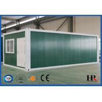 Quality 20ft Folding Prefab Mobile Container Light Steel Villa House Customized Easy Dismantling for sale