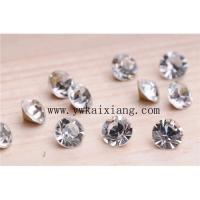 Quality Chatons / pointed back rhinestone for sale