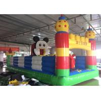 Quality Mickey Mouse Disney Land Inflatable Jumping Castle With Reinforcement Belts Webbing for sale