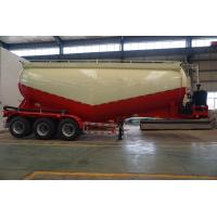 Quality TITAN vehicle 3 axle Bulk cement trailer with diesel engine air compressors for sale for sale
