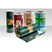 Quality Laminating Film Rolls Food Packaging Plastic Roll Film Moisture Barrier for Coffee Tea for sale