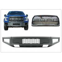 Quality Ford F150 2015 2017 Raptor Style Steel Front Bumper Bar and Front Grille for sale