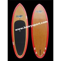 Quality Bamboo Veneer Stand Up Paddle Board/Epoxy SUP Board for sale