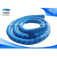 Quality Hose Wire Cable Case  Fiber Optic Patch Cables Soft  Plastic Spiral Guard  Tube Cover for sale