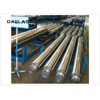 Quality Hydraulic Cylinder Piston Chrome Plated Rod Stainless Steel Parts Anti Corrosion for sale