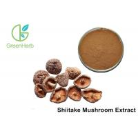 Quality 30% Lentinan Shiitake Mushroom Powder Brown Yellow Powder Anti - Virus for sale