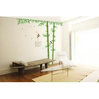 Quality Self Adhesive Removable Wall Stickers Bamboo For Living Room for sale