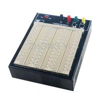 Quality ABS Plastic Brown Powered Breadboard 50000 Times Contact Life for sale