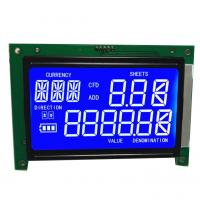 Quality 7-Segment LCD display Custom size LCD graphic matrix character segment lcd for sale