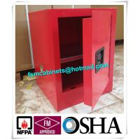 Flame Proof 4 Gallon Paint Storage Cabinets For Corrosive Combustible Liquid