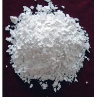 China calcium chloride dihydrate flake 74%min on sale