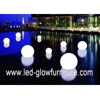 Quality Outdoor Led mood lamp with remote control , color changing led ball light / lamp for sale