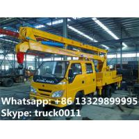 Quality forland LHD 4*2 12m aerial working truck for  sale, best price forland 12m overhead working platform truck for sale for sale