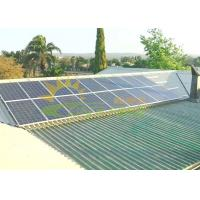Quality Easily Installed PV Solar Rack Anodizing Surface Treatment for sale