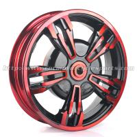 Buy cheap BWS Scooter Parts Forged Motorcycle Front Wheel / Motorbike Wheel Rims from wholesalers