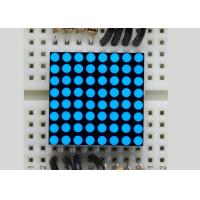 Quality China wholesales electronic components Super Blue 8*8 5mm Mini LED Dot Matrix Outdoor Display for sale