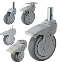 Quality medical devices caster wheel,hospital bed caster for sale