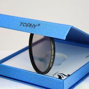Buy Circular Polarizing Filter for Camera Lenses , AGC Optical Glass Polarizer at wholesale prices