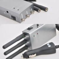 Quality 315 / 434 / 868 MHz Signal Jammer Handheld GPS Jammers high power for sale