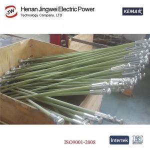 China Epoxy rods pultruded profile for high voltage composite insulators new ECR FRP fiber glass rod epoxy insulation rod on sale