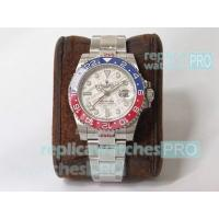 Quality 2019 Swiss Replica Rolex GMT Master II Watch Meteorite Dial 904L SS 40mm for sale