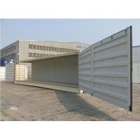 Quality One Side Fully Opened 40 Ft Side Door Container , Open Sea Container Storage for sale