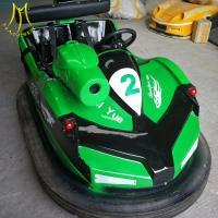 China Hansel adult and kids amusement park electric fiberglass body bumper toy cars on sale