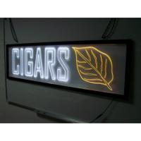 Quality acrylic material logo sign light box sign board for sale