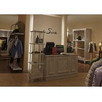 China Fashional Bedroom Clothing Store Furniture , Retail Store Display Furniture on sale