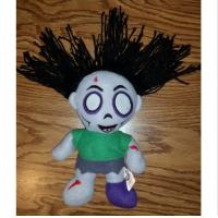 Quality Customized Size Halloween Plush Toys With Dead Scary Zombie Girl Shaped for sale