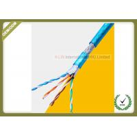 Quality 8 Cores Cat5e Network Cable SFTP Shield For 1000 Base - T Gigabit Ethernet for sale