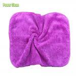 Quality Colorful Easy Wash Microfiber Coral Fleece Cloth Super Absorption Microfiber Coral Fleece Cloth for sale