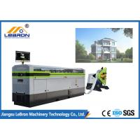 Quality Prefabricated House Roll Forming Machine White Color Light Gauge Steel Framing Machines for sale