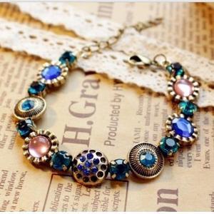 Quality Vintage gemstone bracelets TJ0078 for sale