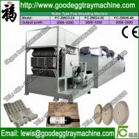 Quality recycling waste paper egg tray machine price for sale
