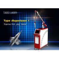 China 1064nm Q Switch Nd Yag Laser Pigment Removal Machine 2000MJ with 1320nm Black Doll on sale