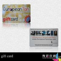 Quality Gift Card OF PVC With Semi-Transparent Pvc For Friends for sale
