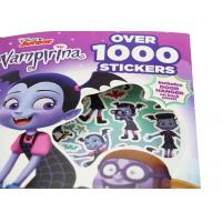 Quality Name Sticker Book Printing , Custom Sticker Printing Services Over 1000 Pieces for sale