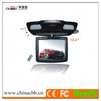 China 10.4 inch TET LCD flip down roof mount monitor with DVD player and TV Tuner, USB and SD/MM on sale