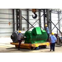 Quality Low voltage electric rail transfer carriage for large steel structure for sale