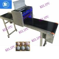 Quality 6 Nozzles Egg Inkjet Coding Printer With Standard Font Large Information Storage for sale