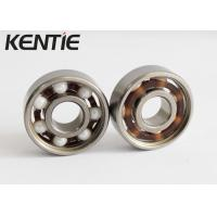 Quality Open Smooth Rotation Full Ceramic Skate Bearings , Light Weigh Skateboard Wheel Bearings for sale